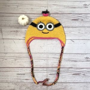 Other - Minions knitted Hat